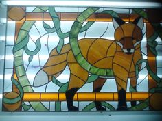 Fox - Delphi Stained Glass