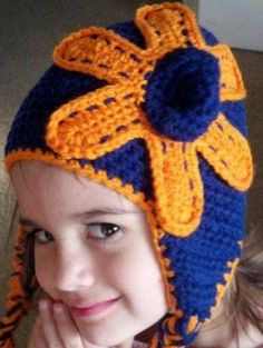 Earflap hat can be made in any size and any color by Heatherkts, $18.00