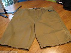 Men's RARE Modern Amusement walk casual shorts 38 antique brown CROW NEW surf