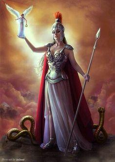 Bellona, Roman goddess of war. The female equivalent of Mars