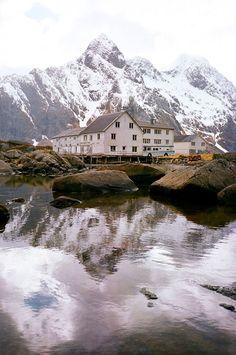 Lofoten fjord, Norway
