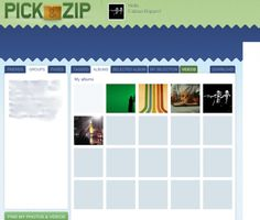 pick-zip Photo Facebook, Videos, My Photos, Blog, Map, Album, Photo And Video, Tools, Maps