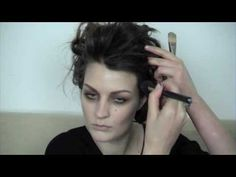 Marla Singer by Pixiwoo. My favourite kind of make up to wear myself is a slept in make up such as this...