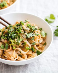 These life-changingpeanut butter noodles will change your life for the better! They're creamy, delicious and so easy to make...you'll wonder how you lived without them!