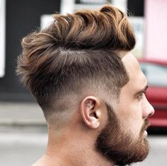 Long Messy Hair with Low Fade                                                                                                                                                     Más