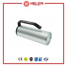 HLBS52A Portable explosion-proof searchlight   Can be used in Zone 1 and Zone 2, group ⅡA, II B and II C explosive gas atmosphere;  Temperature class: T1~T6;  Indoor or outdoor (IP66、IP68*,*Please notice when ordering);  Can be used in the chemical, petroleum refining, petroleum exploitation, offshore platform, tankers, military industry, railway electric utility,  See more : http://www.helonex.com/products/explosion-proof-lamp/hlbs52a-portable-explosion-proof-searchlight-%E2%85%A1c/