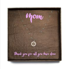 Items similar to Personalized Gift For Mom / Necklace Mothers Day / Mother's Day Gift / Mothers Day Jewelry / Tree Necklace / Mother's Birthday Gift on Etsy Mother Birthday Gifts, Mother Day Gifts, Personalized Gifts For Mom, Handmade Gifts, Jewelry Tree, Unique Jewelry, Tree Necklace, Leather Earrings, Beautiful Necklaces