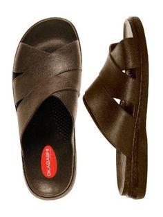 cf5b943f0ac7 Okabashi Men s Milan Flip Flops - Sandals  Find support