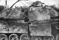 Pictures of destroyed WWII tanks - Armchair General and HistoryNet >> The Best Forums in History