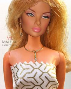 Doll Jewelry for Barbie doll Silkstone by MiniLuxeCollection, $18.00