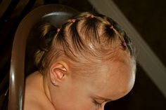 {simply sadie jane}: 15 HAIRSTYLES FOR YOUR BUSY TODDLER!!! I always said I will have my children's hair done when I leave the house, just like my mom always did with me. Here are some ideas!