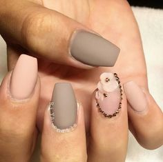 Gray Blush Pink Matte Flower Nails  Follow Shop Love ❤❤❤❤ remycelebrityhair.com Get inspired visit our store like our Facebook #nails #glamorous #best #gorgeous #matte #pink #look #gray #girly #manicure #selfie #ladies #cute #hairporn #model #pedicure #flowers #bronze #sparkle #fall #beautiful #nailpolish #wedding #homecoming #glam #birthday #perfection #love #like
