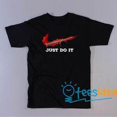 Negan just do it Unisex Adult T Shirt #Neganjustdoit #justdoit #Negan