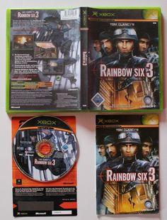Tom Clancy's Rainbow Six 3 für XBOX in OVP!Ansehen!