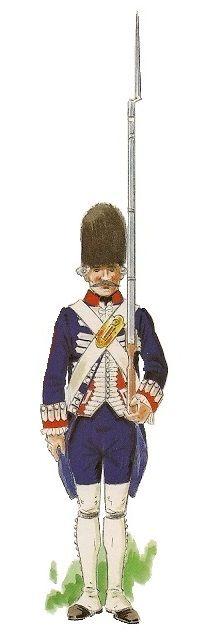Reales Guardias de Infantería Española. Granadero