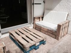 Salon De Jardin / Garden Pallet Lounge Lounges & Garden Sets