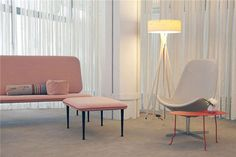 the Ritz (7460) by Bertjan Pot is the latest design from Gelderland #couch #pink #dutch