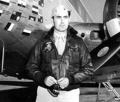TYRONE POWER a famous Hollywood actor before the World War II, Tyrone E. Power, Jr. also served in the Marine Corps as a pilot.