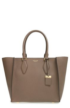 Michael Kors 'Large Gracie' Leather Tote available at #Nordstrom
