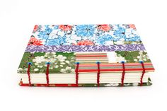 Chiyogami Patchwork Journal | #bookbinding by Ruth Bleakley