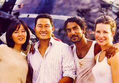 Sun, Jin, Sayid, and Kate. :)
