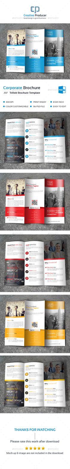 Corporate Tri Fold Brochure Template PSD. Download here: http://graphicriver.net/item/corporate-tri-fold-brochure-/15871444?ref=ksioks