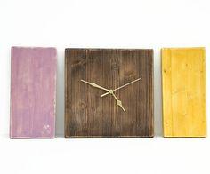 c1b95706d88d Wooden wall clock Office Decor grey driftwood by ArtGlamourSligo Madera  Rústica