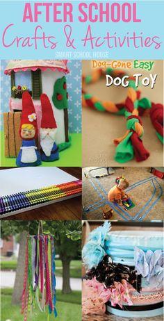 After School: Crafts and Activities via smartschoolhouse.com