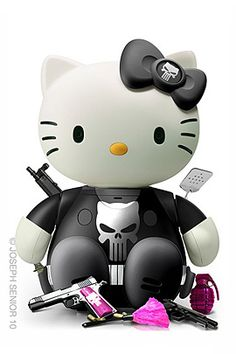 Hello Kitty gangster | LUUUX
