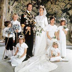 Queen Silvia Wedding