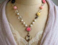 Timeless Rose Garden Necklace