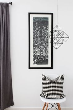 Himmeli Diamond / Modern Hanging Mobile / Geometric Sculpture / Minimalist Home Decor