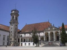 University of Coimbra - One of the oldest in Europe - Portugal