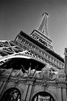 Eiffel Tower at the Paris Hotel Las Vegas USA photograph picture poster print