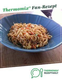 Chinesischer Nudelsalat von Elke F.. Ein Thermomix ® Rezept aus der Kategorie Vorspeisen/Salate auf www.rezeptwelt.de, der Thermomix ® Community.
