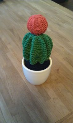 Crochet Cactus tutorial pattern