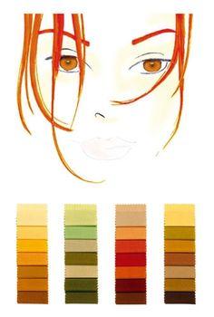 Farbtyp mittel-warm: die perfekten Farben                                                                                                                                                                                 Mehr