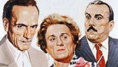 Eduardo De Filippo - con Titina e Peppino