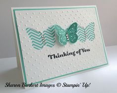 Butterfly card. Stampin Up!
