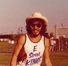 Bruce Springsteen, circa 1975.                                                                                                                                                                                 More