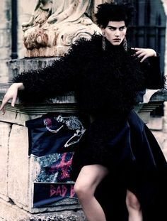 W October 2013-Couture Clash