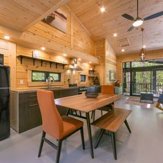 Timber Block's Home of the Month is not only a custom Tiny Home, but is a global attraction!  #timberblock #muskokas #tinyhome #ontarioattractions #customhome #homedesign #tinyhouse #tinyhousemovement #floorplans #ontariohomes #homebuilder #buildgreen #efficient #buildanywhere #assemblesinhours #R30 #energyefficient #sustainableliving #newhomeconstruction