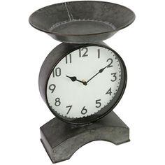 Dark Gray Scale Clock