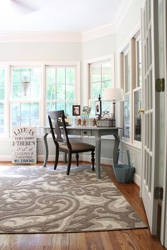 """Sunroom by Unskinny Boppy, via Flickr  I love the quote""""LIFE ISVERY SHORT, THERES' NO TIME FOR FUSSING & FIGHTING MY FRIEND"""""""