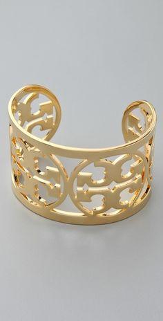 Tony Burch Curved Logo Bracelet
