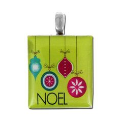 19mm Noel Scrabble® Tile Pendant