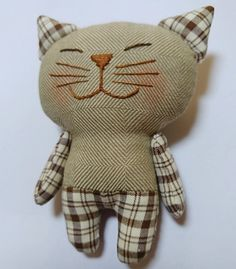 kitty, sew kitty, toy kitty