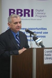 Senator Reed 199x300 Reed Adds Library Amendment to Immigration Bill