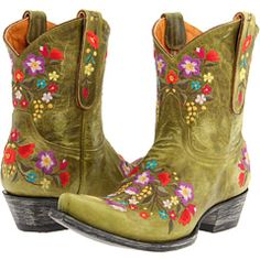 Now, I've wanted cowgirl boots for a while...but THESE are the ones!