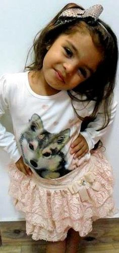luluzinha kids ❤ loVe fasHion ❤ A bela Kamilly com o seu look total LULUZINHA.